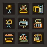 Advertising Icon Series Royalty Free Stock Image