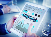 Advertising Marketing Business Promotion Concept royalty free stock photo