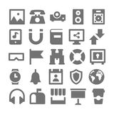 Advertising and Media Vector Icons 4 Royalty Free Stock Image