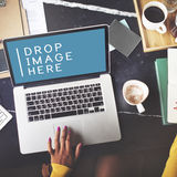 Advertising Online Online Marketing Technology Concept Stock Photography