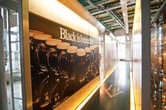 Advertising panels in Guinness Storehouse Royalty Free Stock Image