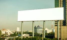 Advertising pillars Stock Photography