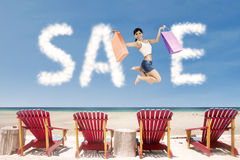 Advertising sale concept Royalty Free Stock Photos