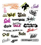 Advertising Sales Promotions 3 stock illustration