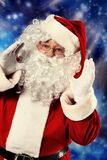 Advertising santa Stock Photos