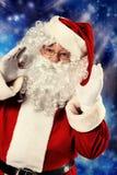 Advertising santa Stock Photos