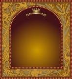 Advertising slavonik frame icon Royalty Free Stock Photo