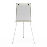 Advertising stand or easel front view isolated on white backgrou Royalty Free Stock Photos
