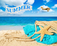 Advertising Summer Stock Image