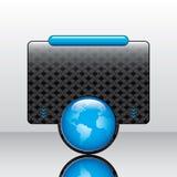 Advertising web box Stock Images