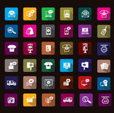 Advertisment  icon Royalty Free Stock Photography