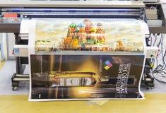 Advertizing för internationell handelmässa Royaltyfri Foto