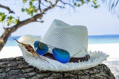 Advertizing för sommarferie Arkivbild