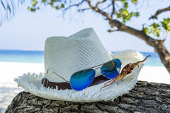 Advertizing för sommarferie Arkivfoton