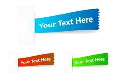 Advertizing label. Vector. Stock Image