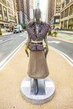 Advetising para el desfile de la moda Imágenes de archivo libres de regalías