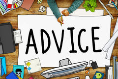 Advice Advisor Consultant Support Assistance Concept Stock Photo