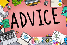 Advice Advisor Consultant Support Assistance Concept Royalty Free Stock Photography