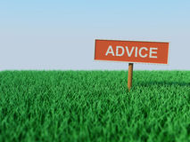 Advice concept. 3D Rendered Image Royalty Free Stock Photo