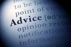 Advice Stock Photography