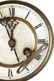 Advices of old clock Stock Image