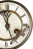 Adviezen van oude klok Stock Afbeelding