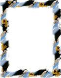 Advirta o frame do sinal no branco ilustração royalty free