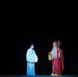 """Advised him to stop-The fifth act Steal immortal-Kunqu Opera""""Madame White Snake"""" Royalty Free Stock Photography"""