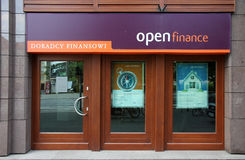Advisory financier - ouvrez les finances image stock