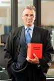 Advocaat met burgerlijk rechtcode royalty-vrije stock afbeeldingen
