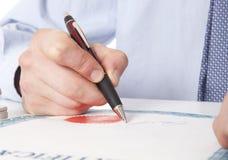Advocaat, notaris Royalty-vrije Stock Afbeelding