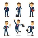Advocaat of procureurs de vector van het beeldverhaalkarakter Stock Foto's