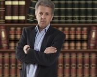 Advocaat voor boekenkast stock afbeeldingen