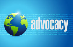Advocacy international sign concept Stock Photo