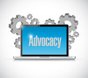 Advocacy technology sign concept Royalty Free Stock Image