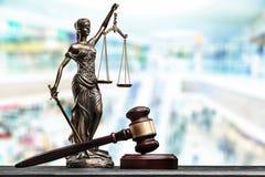 Advocate. Antique arbitration background balance blind blindfold Royalty Free Stock Photo