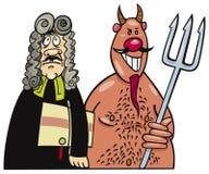 Advogado de diabo Imagens de Stock Royalty Free