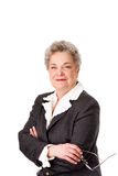 Advogado de sorriso feliz do negócio corporativo Fotos de Stock Royalty Free