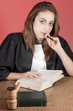 Advogado novo Foto de Stock Royalty Free