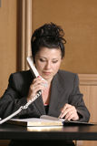 Advogado ou profissional do negócio imagem de stock royalty free