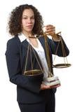 advokat Royaltyfri Bild