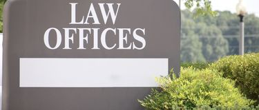 Advokat Law Firm Offices royaltyfri fotografi