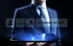 Advokat på affärsidéen för laglig rådgivning för lagadvokatförsvar arkivbilder