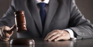 Advokat på lag Kontor för laglig advokat Arkivfoto