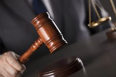 Advokat på lag Kontor för laglig advokat Arkivbilder