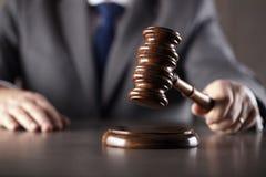 Advokat på lag Kontor för laglig advokat Royaltyfri Foto