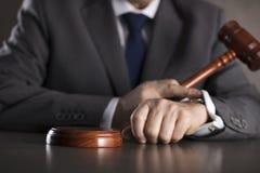 Advokat på lag Kontor för laglig advokat Royaltyfri Fotografi