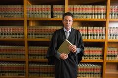 Advokatinnehavbok i lagarkivet Royaltyfri Bild