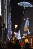 Adwent w Budapest Obraz Royalty Free