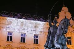 Adwent w Zagreb, Chorwacja 2016 Zdjęcia Stock